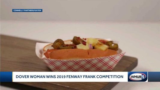 Dover woman's hot dog creation wins Fenway Frank competition