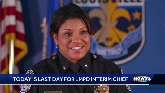 Interim police chief Yvette Gentry ends interim LMPD role, incoming chief to be sworn in