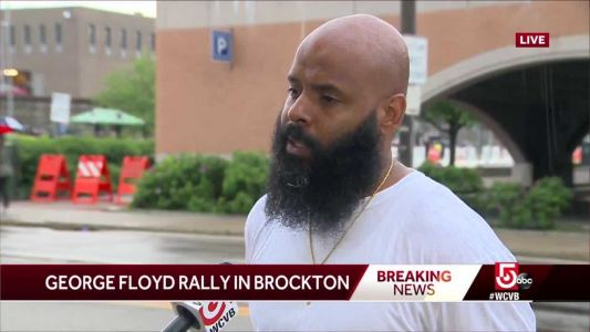 'This is a lifetime struggle': Brockton protesters letting youth lead way
