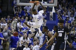 No. 10 Seton Hall wins 9th in a row, edging Providence 73-64