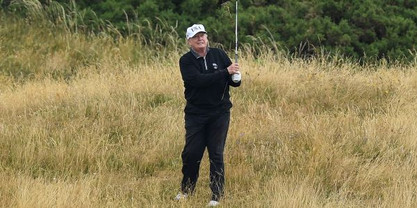 One of Trump's visits to his Scotland resort cost taxpayers more than $950,000 in Secret Service fees