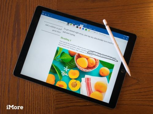 Microsoft testing Word and Excel trackpad support for iPad