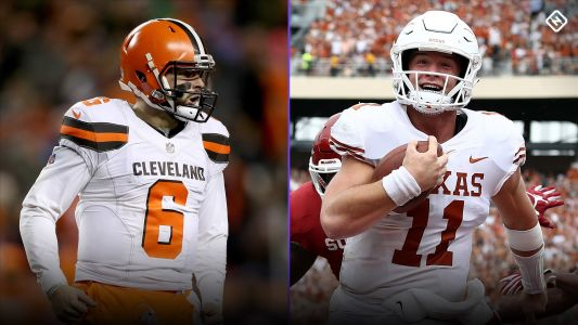 Baker Mayfield rips Sam Ehlinger, Texas title talk
