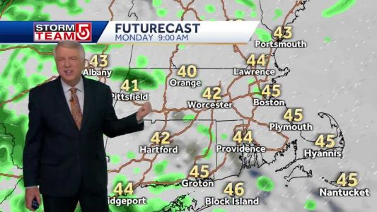 Video: Several chances for light, scattered rain showers this week
