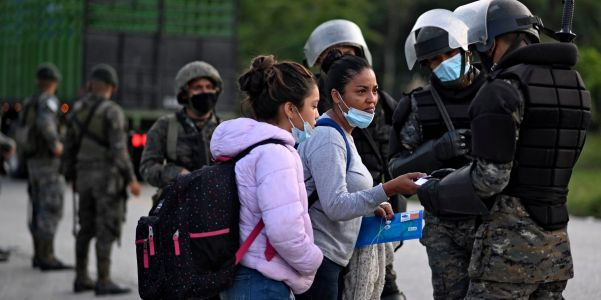 Trump administration 'acted with complete disregard' for international law by deporting Hondurans - in Guatemala - civil society groups charge