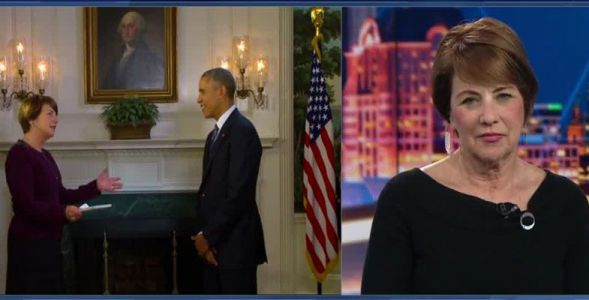 2016: Kathy Mykleby goes to Washington to interview President Barack Obama