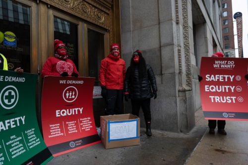 Chicago Teachers Push For Safe And Equitable Return To In-Person Classes