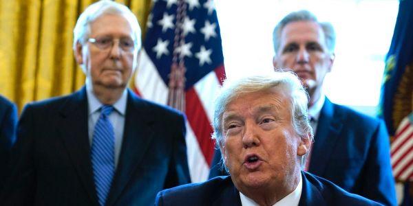 Mitch McConnell and other top Republicans are dismissing concerns over Trump's refusal to commit to a peaceful transfer of power