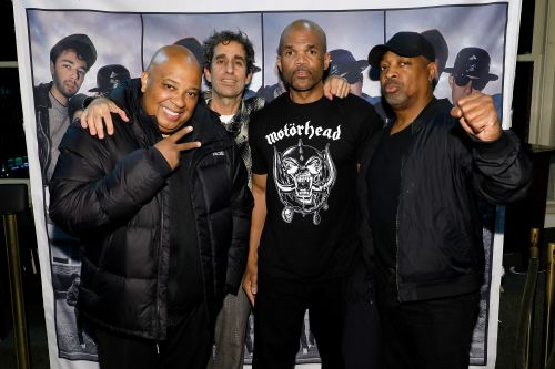 Run-DMC, Chuck D support hip hop photography at book signing