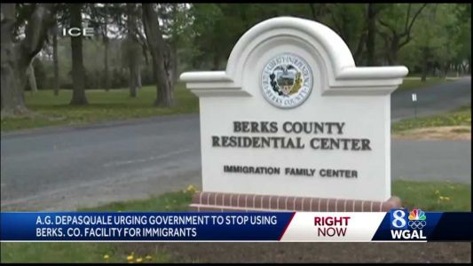 Pa. auditor general calls on federal government to stop using Berks County center to detain immigrants