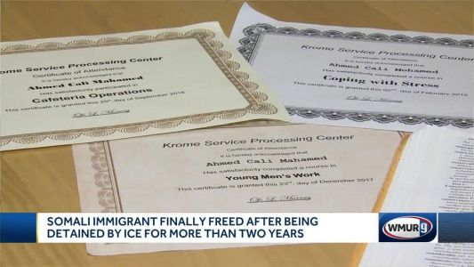 Somali immigrant freed after being detained by ICE for more than 2 years