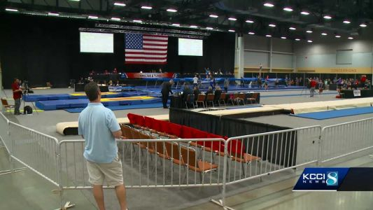 Road to 2020 Olympics starts in Des Moines for elite gymnasts