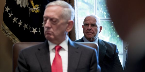 "Trump ""Actively Discussing"" Mattis Replacement, Looking for Cooperative Iran Hawk"