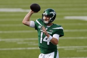 Jets' Darnold to start vs. Bills, barring shoulder setbacks