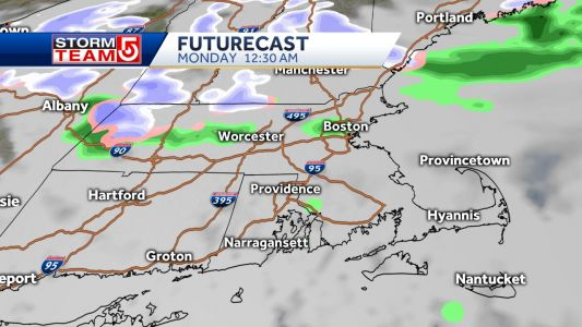 Storm system could bring wintry mix along Mass Pike