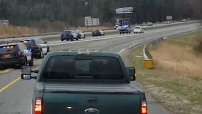 Deputies chase stolen vehicle suspect across state line into South Carolina topping 100 mph