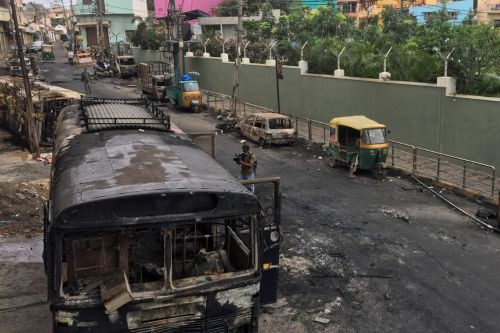 Three dead after Facebook post sparks violent clashes in Bengaluru