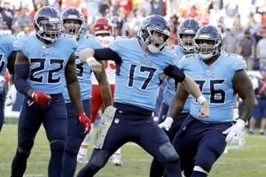 Titans try to start playoff chase against skidding Jaguars
