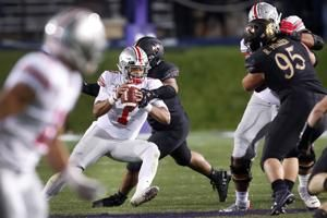 Fields leads No. 4 Ohio State past Northwestern 52-3