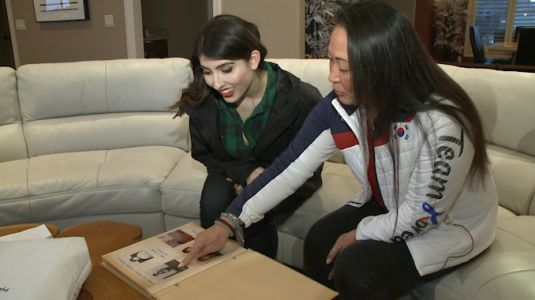 Local woman travels to Korea for Olympics, orphan advocacy work