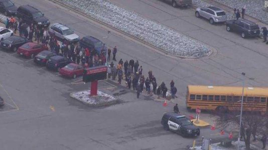 School resource officer exchanges gunfire with suspected student shooter at Wisconsin high school