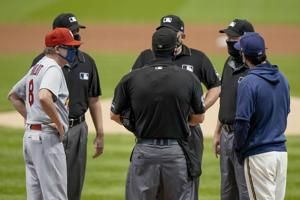 AP sources: MLB umpire tests positive for virus, crews shift