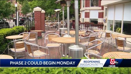 Restaurants, businesses ready for governor to launch Phase 2 of Mass. reopening