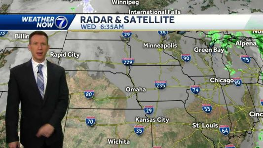 Cloudy Wednesday morning, cool sunshine this afternoon