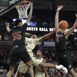 Wake Forest blows big lead, still tops No. 17 NC State 71-67