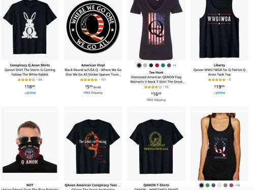 Amazon is chockfull of products promoting the far-right QAnon conspiracy theory even as fellow tech giants like Facebook, TikTok, Google, and Twitter crack down