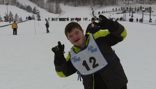 Special Olympic athletes hit the slopes at Perfect North