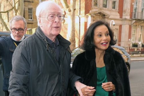 Michael Caine and his wife have rare dinner outing and more star snaps