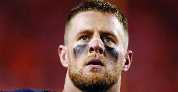 Texans star J.J. Watt visits school shooting survivors as they recover from their injuries