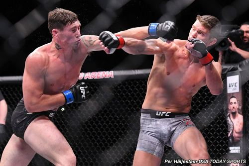 Stephen Thompson disputes UFC Liverpool loss to Darren Till, but 'hat's off to Darren'
