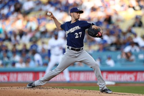 MLB prediction: Take Brewers' Zach Davies over Dodgers