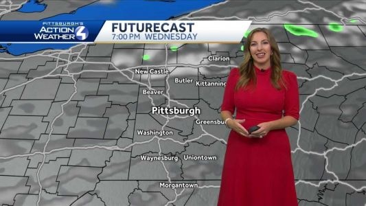 Dry today; showers possible to finish the week