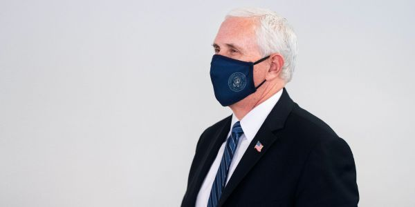 Mike Pence delayed a campaign event in Arizona after at least 8 Secret Service agents tested positive for the coronavirus while preparing for the trip