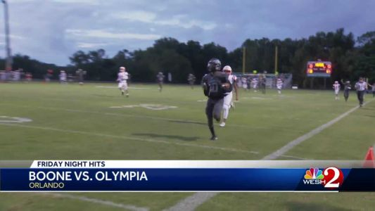 Boone victorious over Olympia