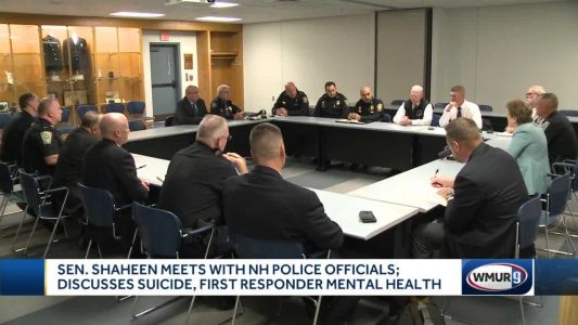 Shaheen meets with law enforcement officials to discuss suicide, mental health