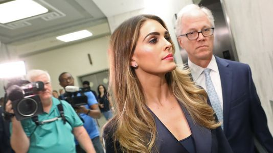 Hope Hicks Testifies On President Trump's Potential Obstruction Of Justice