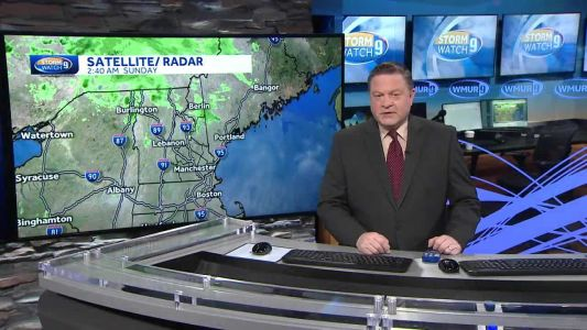 Watch: warm weather with scattered showers today