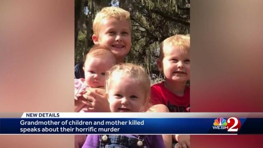 Grandmother of children killed speaks: 'He took my whole world away from me'