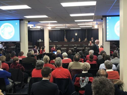 Pension working group meets in Frankfort