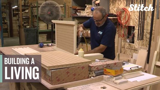 People with disabilities get equal opportunities working at furniture shop