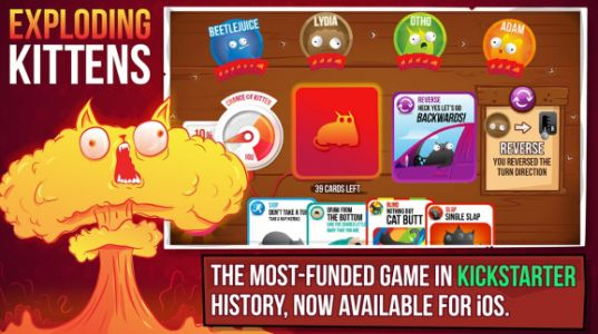 Exploding Kittens puts out fires from higher demand for tabletop games