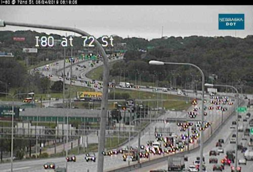 1 person ejected in crash at EB I-80 at 72nd Street