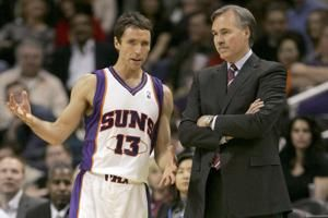 Nash hires D'Antoni, Stoudemire for his Nets coaching staff