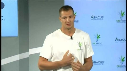 Gronk gets emotional talking about his retirement