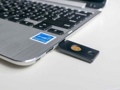 Security keys are a great fail-safe way to get into your Google account