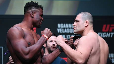 UFC Phoenix: Ngannou and Velasquez throw down in heavyweight clash in Arizona